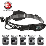 Night Stick Low Profile ,Dual Light Head Lamp